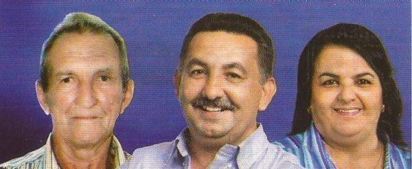Zequinha, Júnior Januncio e Márcia Cunha